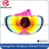 2016 China Manufactory Wholesale Promotionnel Double lentille Ski Goggle Polarized UV Protector Skateboard Lunettes de protection