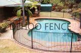 Frontière de sécurité enduite soudée par Ce/SGS de piscine de poudre d'Interpon pour la garantie