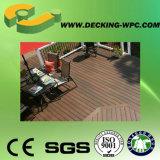 セリウムが付いている安い固体WPC Deckingの床