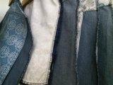 Telas que embolsan 100% del poliester usadas para los pantalones vaqueros