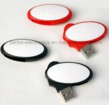 El USB lleno Pendrive de Capactity de la alta calidad con insignia imprimió (760)