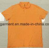 Polo meilleur marché des prix pour l'homme, marchandises en gros, vêtement courant
