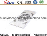 Telhas de teto, materiais de construção de plástico Teto de PVC de alta qualidade, painéis de teto de PVC em vez de placas de gesso