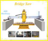 Machine de découpage en pierre automatique de passerelle pour tuiles de granit de Sawing/de marbre