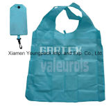 Custom Imprinted Promotional Nylon Folding Reusable Shopping Tote Bag na bolsa