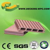 Decking composé de WPC avec la vente chaude