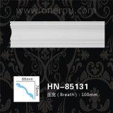 Corniche de polyuréthane de décoration de plafond d'unité centrale moulant Hn-85131