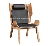 Silla de salón de madera moderna de los muebles del pasillo 3124