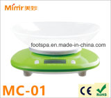 Electronic Kitchen Scale Mimir 2-5000g Green avec Bowl Mc-01
