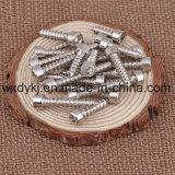 Nickel überzogene Kontaktbuchse-Schutzkappen-Gewindeschneidschraube