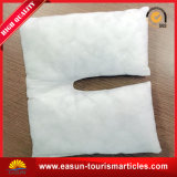 Hotel Neckpillow con el color blanco para el uso disponible