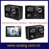 Antivorgangs-Kamera der erschütterung Wfi Sport-Kamera-4k mit Fernsteuerungs