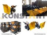 Dumper электрического мотора кургана колеса миниые/курган силы