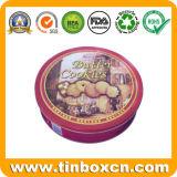 Verpacken- der Lebensmittelkasten-achteckiges Metallzinn für Plätzchen-Biskuit-Imbiß