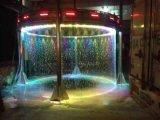 Rideau en eau coloré de Digitals de fontaine d'eau de musique