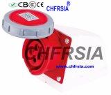 4p IP67 16A impermeabilizan el enchufe industrial del socket para la superficie montada
