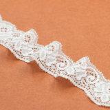 Шнурок оптового дешевого Spandex высокого качества красный эластичный для женское бельё