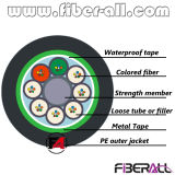 GYTS / GYTA Outdoor Fiber Cable 144 Fibres Acier ou Aluminium Armure