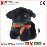 中国の安く静かに詰められたおもちゃのプラシ天犬