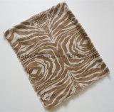 Dünne Baumwollklassisches Zebra-Drucken Pareo/Dame Scarf (HWBC610)