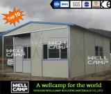 Ayuna la casa prefabricada moderna de la estructura para el campo de trabajo
