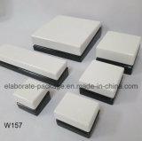 백색 나무로 되는 보석 선물 포장 전시 상자