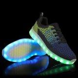 빛난 신제품 Flyknit 물자 LED는 남자 여자를 위한 LED 단화 2016년을 불이 켜진다