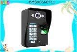 telefone video da porta de 9I Nch com interfone da gravação