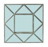 Blocco per grafici decorativo di legno dello specchio del triangolo nel rivestimento del legno naturale