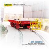 Carrinho de transferência motorizada para trilhos de trilhos