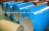 Color Coil/PPGL/PPGI revestido para la hoja del material para techos del metal