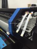 3.2m rolam acima a impressora interna larga do anúncio ao ar livre de /Vinyl /Sticker da bandeira do cabo flexível do formato do Inkjet 1440dpi