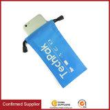 Approvisionnement de constructeur de sac de poche de tablette PC et de téléphone mobile de cordon de Microfiber