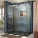 De aangemaakte Schuifdeur van het Glas van Frameless van de Badkamers