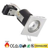 Beleuchten quadratisches Feuer bewerteter vertiefter Decke 90mins PFEILER Scheinwerfer LED unten