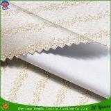 Hauptgewebe gesponnenes Polyester, das wasserdichtes Franc-Stromausfall-Vorhang-Gewebe beschichtet