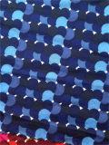 CDC estampée de soie de Spandex dans les points colorés