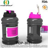2.2L BPA освобождают пластичную бутылку трасучки протеина, бутылку воды спорта 2.2/2.5L оптовую Tritan (HDP-3031)