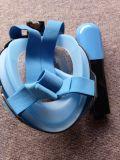 ダイビングの水泳のためのAnti-Fog Foldable上の乾燥したスノーケルの太字マスク