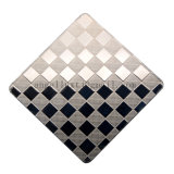 Il reticolo della tela di prezzi competitivi ASTM 304 ha impresso lo strato laminato a freddo dell'acciaio inossidabile per il comitato della decorazione del portello del contatore di verifica della cucina