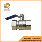 Het Opgepoetste Chroom van China Fabrikant Dn25 de Kogelklep van het Messing van 1 Duim Met het Handvat van de Hefboom