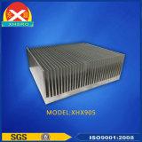 Dissipatore di calore di alluminio dell'espulsione per strumentazione meccanica differente