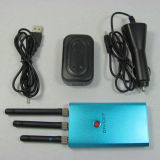 3本のアンテナ手持ち型の中型力の携帯電話の妨害機