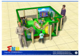 Matériel d'intérieur de cour de jeu de mini région d'enfant en bas âge