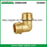 OEM&ODMの品質の磨く真鍮の肘(AV-BF-8003)
