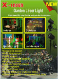 Iluminação do chuveiro da paisagem do laser da luz da estrela da noite de Natal