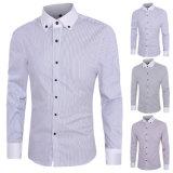 Chemise de robe de chemise de la mode formelle des hommes longue (A420)