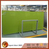 Lastra artificiale verde della pietra del quarzo