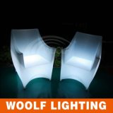 New Syle Plastic Furniture Luminous LED Chair