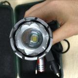 CREE Xml T6 2000lm 6 Modus PAS summen innen und heraus LED-Selbst - Verteidigung Luta Hauptfackel-taktische Aluminiumtaschenlampe laut